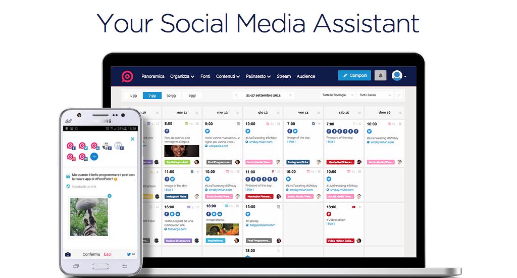 Postpickr, il miglior alleato del Social Media Manager
