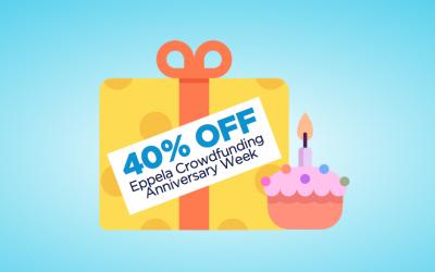 Crowdfunding Anniversary Week: abbonati col 40% di sconto, per sempre!
