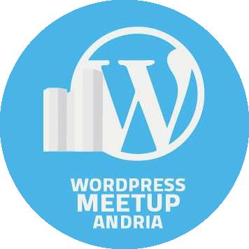 Logo WordPress Meetup Andria