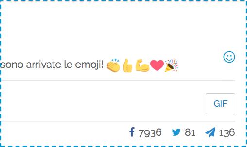 Usare le emoji con PostPickr: rendering delle icone