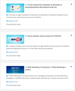 Feed Rss WordPress - visualizzazione corretta in PostPickr