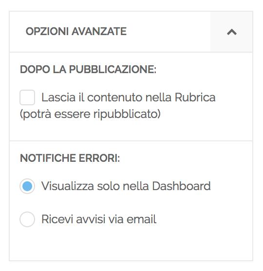 platform update  anteprima dei post  gestione avvisi email
