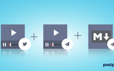 Platform Update: Video per Twitter + Video e Formattazione Markdown per Telegram