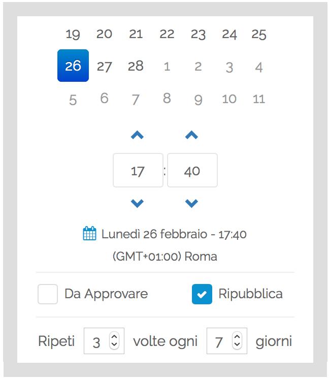 Gestione Canali Telegram - Post Programmati