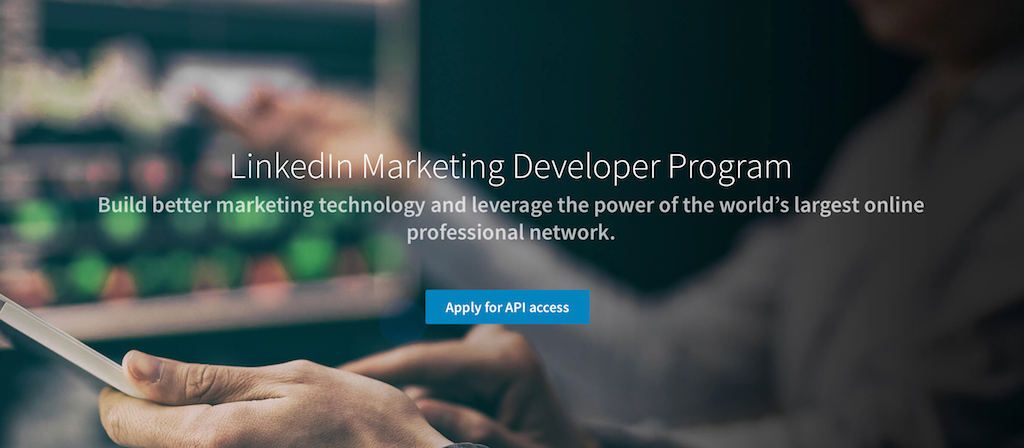 LinkedIn Marketing API Partner