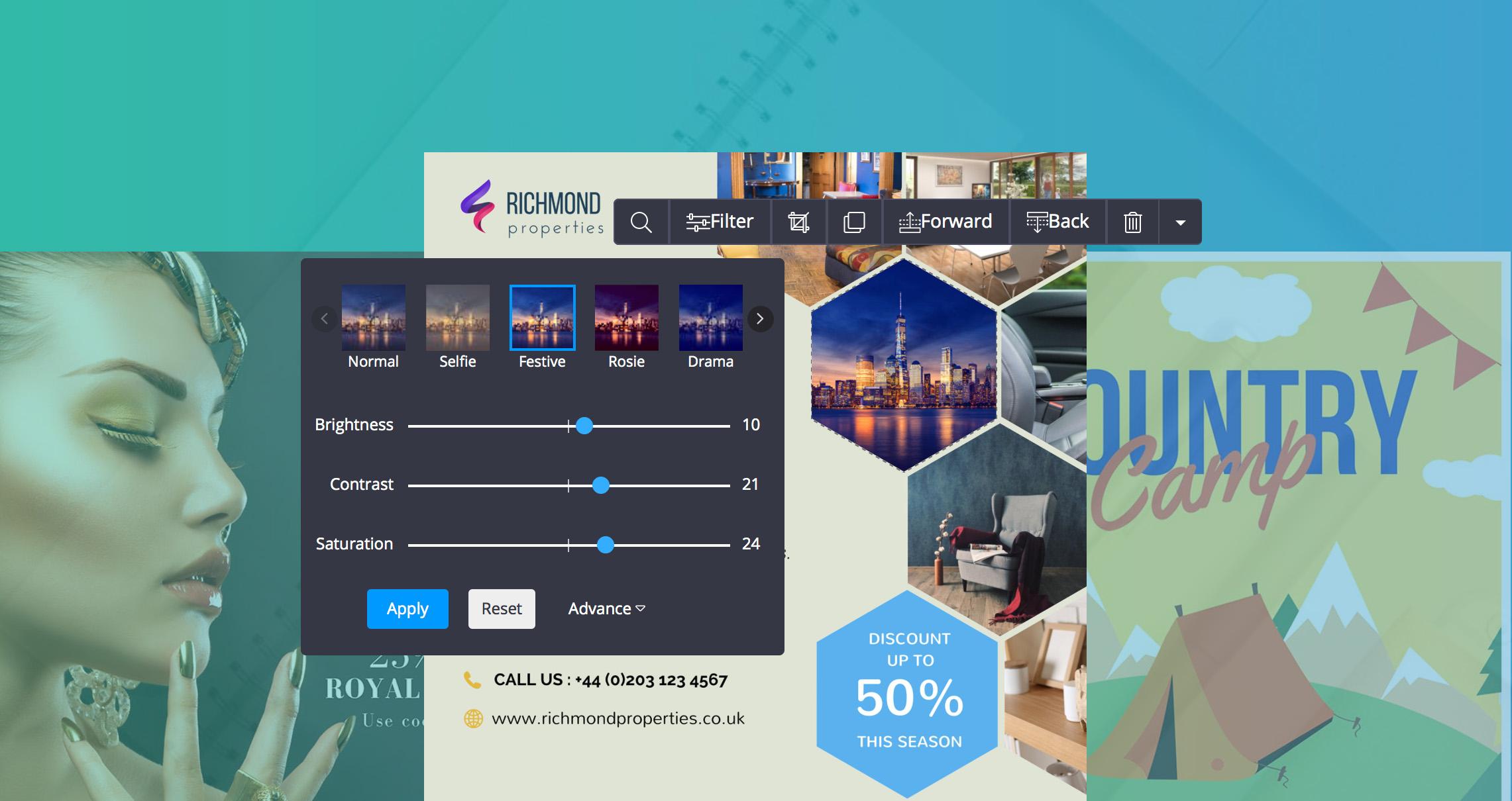 DesignBold - homepage