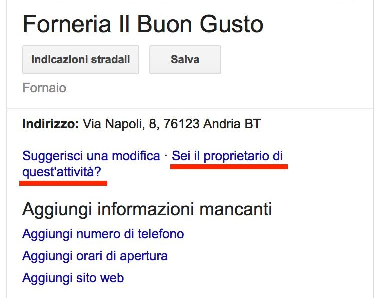 Google My Business: reclamare la proprietà di una scheda