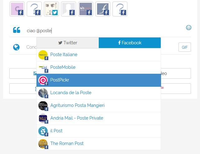Menzionare altre pagine Facebook nei Post con PostPickr