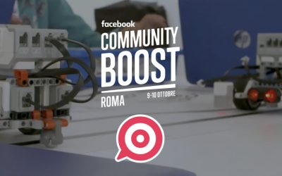 PostPickr tra i relatori del Facebook Community Boost