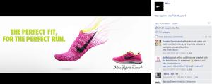 Esempio di uso dei colori in un post sponsorizzato