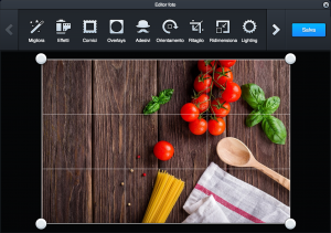 L'Editor fotografico integrato Adobe Creative Cloud