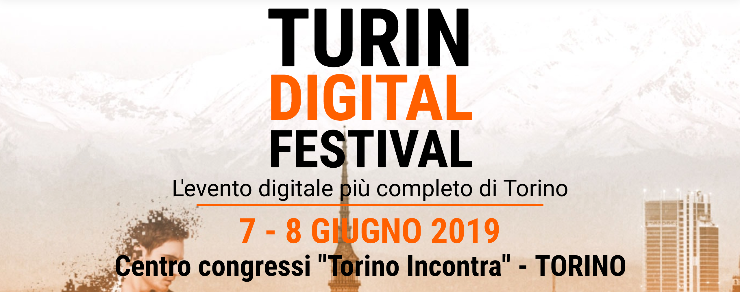 Deegito - Turin Digital Festival - home page dell'evento