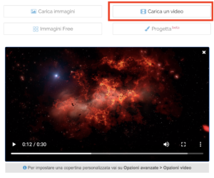 Il nuovo player dei video incorporato nel Post Editor