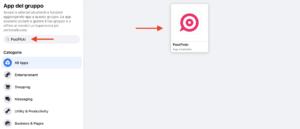 Ricerca app PostPickr