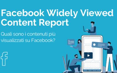 Quali sono i contenuti più visti su Facebook, spiegato da Facebook
